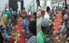 Iftar party at Kishan Bagh 9 No