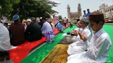 Photo of Alvida Jumma Observed in Hyderabad