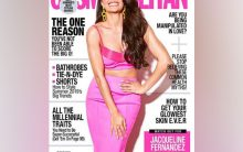 Jacqueline turned the 'Cosmo girl' for latest magazine cover