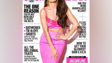 Photo of Jacqueline turned the 'Cosmo girl' for latest magazine cover