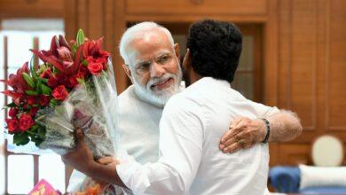 Photo of Jaganmohan Reddy meets Modi