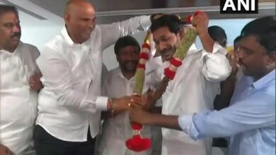 Photo of Jagan Reddy elected YSRCP legislature party leader