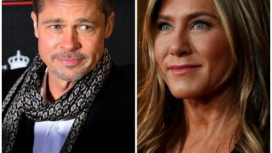 Photo of Brad Pitt laughs off Jennifer Aniston dating rumours
