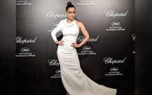 Dressed as a 'dove', Kangana joins the Chopard party