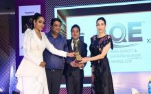 Karisma Kapoor gives away AQE Awards 2019 New Delhi by Xel Research