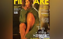 Katrina Kaif oozes oomph in olive green pullover on magazine cover