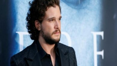 "Photo of Kit Harington is ""proud"" of checking into rehab"