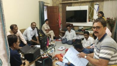 Photo of Lokayukta team raids three locations related to commercial tax official