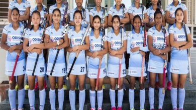 Photo of Triumphant Indian Women's Hockey team returns after series win over Republic of Korea