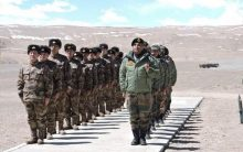 Border Personnel Meet between Indian and Chinese Army held in Ladakh