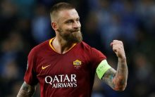 AS Roma FC confirms Daniele De Rossi's exit
