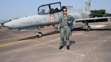 Photo of Mohana Singh becomes first IAF woman pilot to be operational by day on Hawk jets