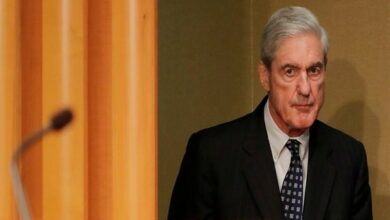 Photo of Mueller steps down after public statement on Russia probe