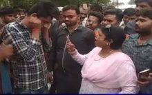 UP: Young Muslim punished by ex BJP Mayor after she spots 'kalava' on his wrist