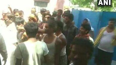 Photo of Nalanda: Villagers boycott polls, smash EVM