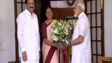 Photo of PM Modi meets Vice-President Venkaiah Naidu