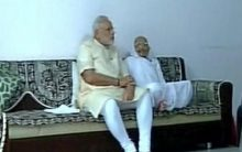 PM Modi to seek mother Heeraben's blessings tomorrow, Varanasi next