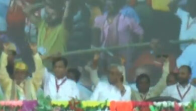 Photo of Nitish's silence speaks louder than words in PM Modi rally