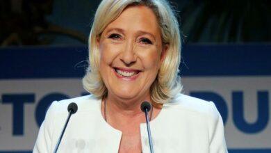 Photo of EU Parliament elections: Far-right Marine Le Pen declares victory over Macron