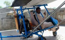 Muhammad Fayyaz , a Pakistani popcorn seller who built his own plane