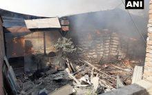 UP: Fire breaks out in paper mill in Chandauli