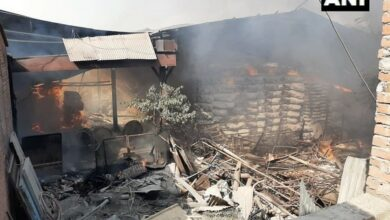 Photo of UP: Fire breaks out in paper mill in Chandauli