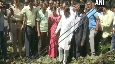 Photo of Deputy CM inspects areas affected by rain, thunderstorm