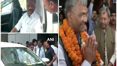 Photo of Political leaders arrive in Delhi for NDA meeting