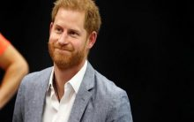Prince Harry gushes about Archie during hospital visit