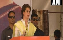 RSS people were doing 'chamchagiri' of Britishers, never fought in independence movement: Priyanka Gandhi