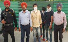 Punjab: Three men nabbed with 600-gram heroin