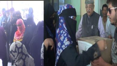 Photo of Faiz-e-Aam Trust distributed Ramadan Ration kits