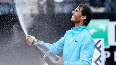 Photo of Rafael Nadal edges out Djokovic to win 9th Italian Open title