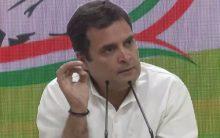 'Unprecedented', says Rahul Gandhi on Modi's first press conference