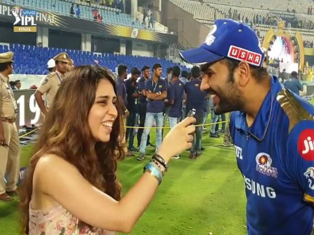 Winning 4th Ipl Title In Front Of Daughter Samaira Is Special Says Rohit Sharma