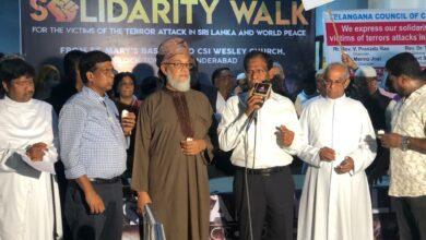 "Photo of Federation of Telugu Churches organize ""interfaith gathering"" to condemn Sri Lanka Bombings"