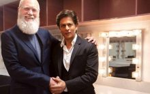 SRK to be the first Indian celebrity to be guest on David Letterman's talk show