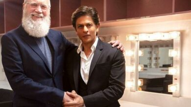 Photo of SRK to be the first Indian celebrity to be guest on David Letterman's talk show