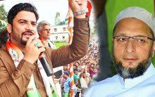 "Owaisi wears ""Saffron"" Chaddi, will lose from all seats : Salman Nizami"
