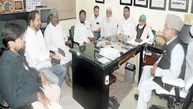 Photo of Siasat's Millat Fund arranged burial of 4419 destitute Muslim bodies