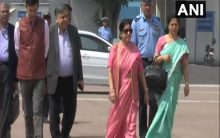 With terror on agenda, Swaraj departs for SCO Foreign Ministers meet in Bishkek