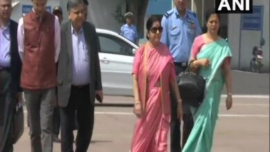 Photo of With terror on agenda, Swaraj departs for SCO Foreign Ministers meet in Bishkek