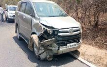 Telangana: 3-year-old killed after MLA's car rams bike