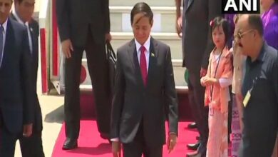 Photo of Myanmar Prez reaches Delhi to attend Modi's swearing-in