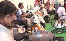 J-K: Specially designed scooters for differently-abled