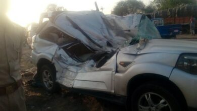 Photo of UP: SPF team meets with accident in Unnao; 1 killed, 5 injured