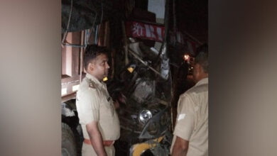 Photo of Unnao: Driver killed, 24 injured in bus-truck collision
