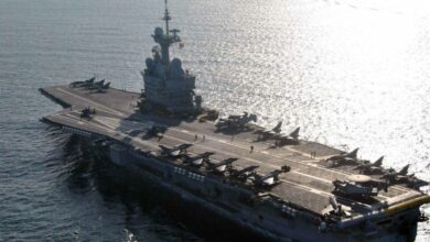 Photo of Exercise Varuna: French and Indian navies conduct air-to-air combat exercise