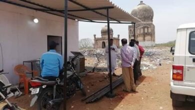 Photo of TS Wakf Board, cops evict land encroacher in Balapur