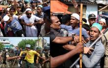 Worshippers who reached Masjid Ek Khana arrested